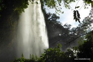 Tag der Wasserfälle in Mexiko