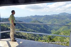 Aussichtsplattform auf Kuba