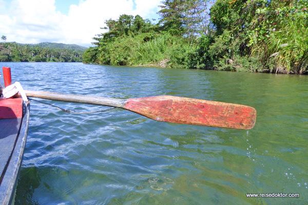 Bootsfahrt auf dem Rio Tao