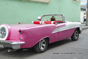 Cabrio in Kuba