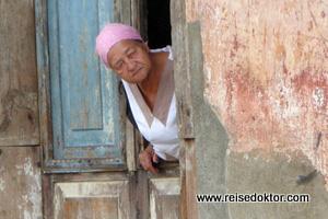 Frau in Baracoa