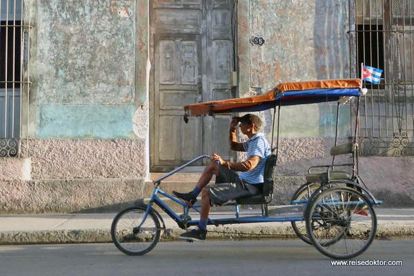 Holguin Fahrradtaxi
