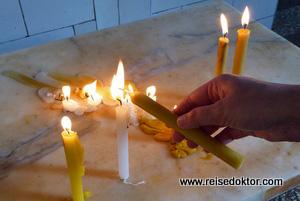 Kerzen El Cobre