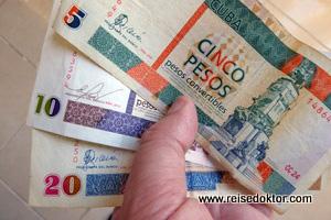 Kubanische Pesos Convertibles