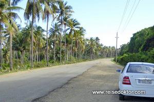 Strasse auf Kuba