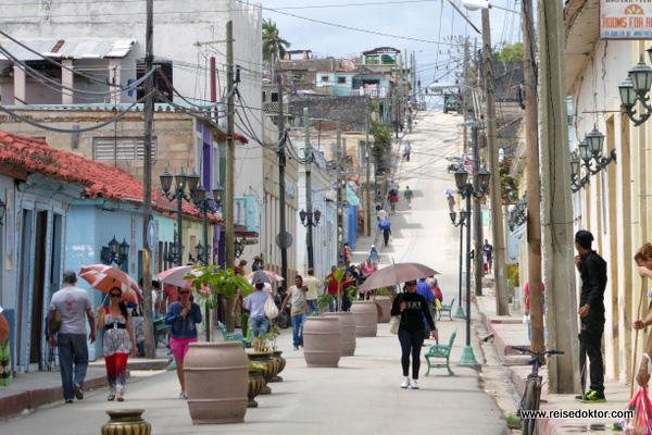 Kuba - Gibara Straße