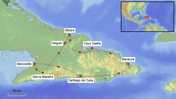 Kuba Rundreise 2016