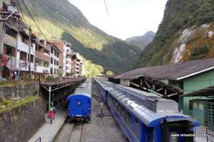 Pisaq und mit dem Zug nach Machu Picchu Stadt