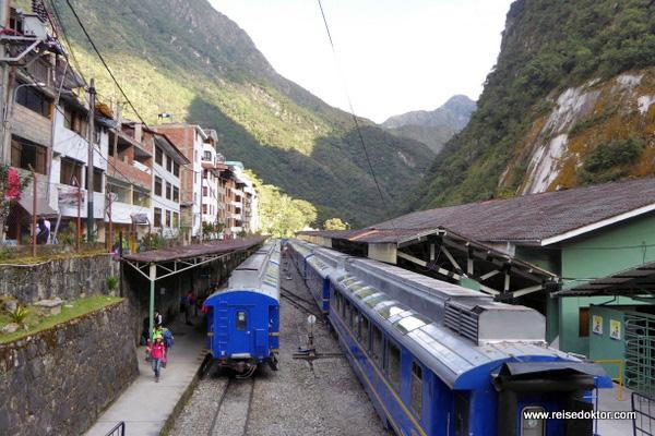 Bahnhof Machu Picchu Pueblo