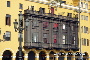 Balkone in Lima
