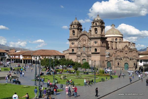 Cusco Hauptplatz