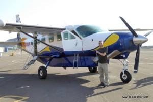 Flug über die Nazca-Linien in Peru