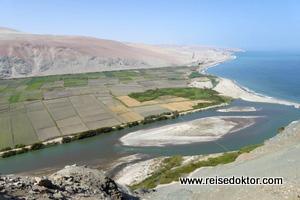 Küste von Peru