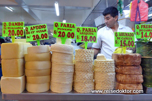 Markt - Käse - Peru