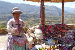 Peruanische Tracht