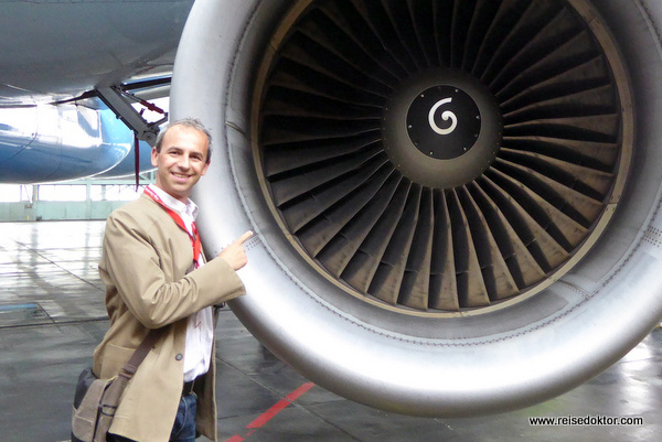 Triebwerk Austrian Airlines Airbus