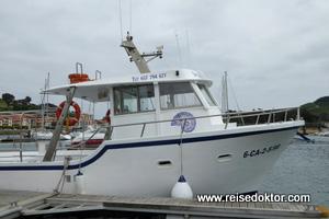 Bootsfahrt im Baskenland
