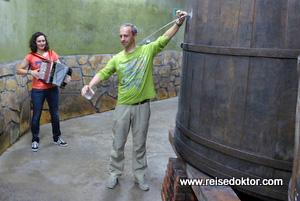 Cider Fass Baskenland