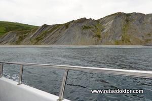 Flysch Geopark Bootsfahrt