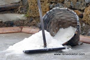 Salz im Baskenland