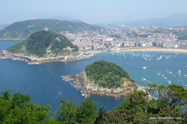San Sebastián in Spanien