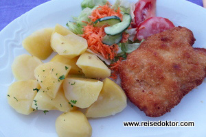 Abendessen in Brünn