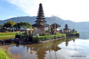 Bali: Pura Ulum Bratan und die Reisterrassen von Jatiluwih