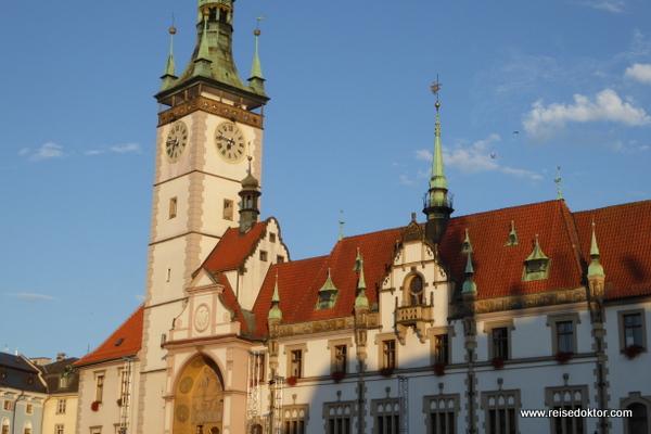 Rathaus in Olmütz