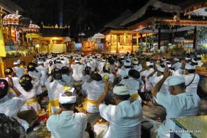 Bali: Tempelfest in Ubud