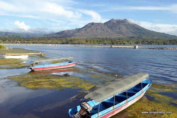 Batur Lake auf Bali
