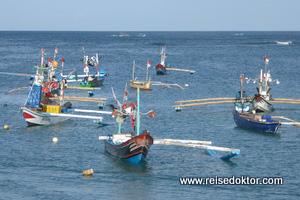 Jimbaran Fischerboote