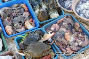 Meeresfrüchte Bali