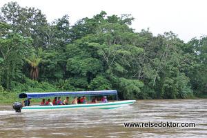 Bootsfahrt Rio San Carlos