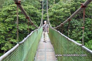Costa Rica Hängebrücke