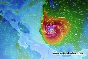 Hurrican Otto Costa Rica
