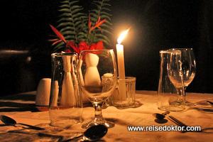 Maquenque Lodge Abendessen