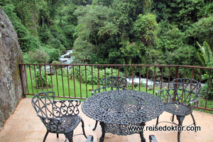 Trogon Lodge Garten