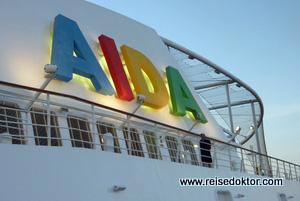 Geburt eines neues AIDA Schiffes - Stahlschnitt der AIDAgreen?