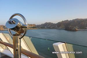 Fahrt mit der Aida im Oman
