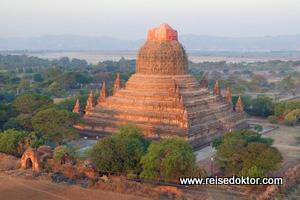 Bagan Pagode Ballonfahrt