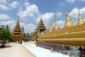 Bago: Pagode in Myanmar