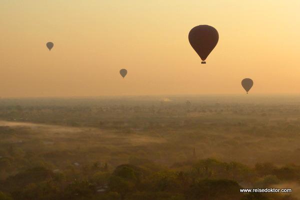 Ballonfahrt Bagan