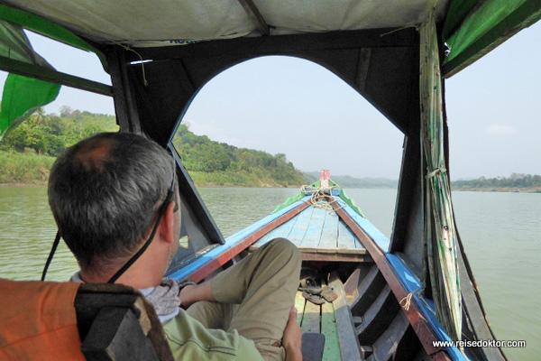Bootsfahrt Chin Dörfer