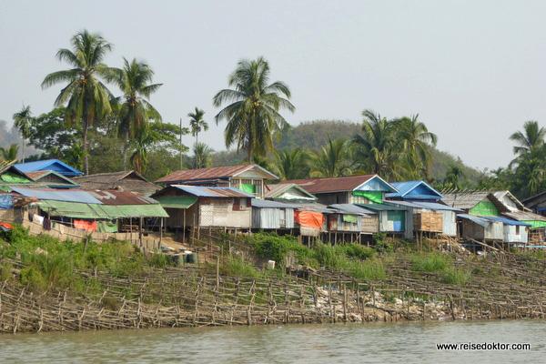 Chin Dörfer Bootsfahrt