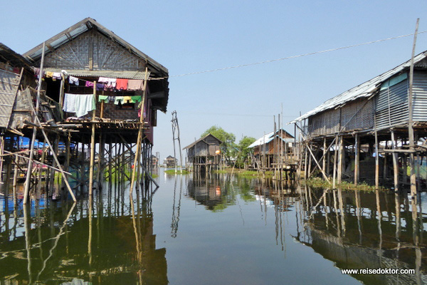 Dorf Inle See