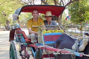Fiakerfahrt in Bagan