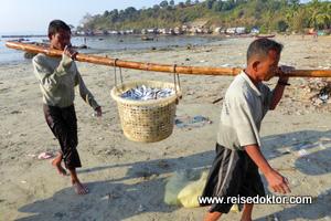 Fischer in Myanmar