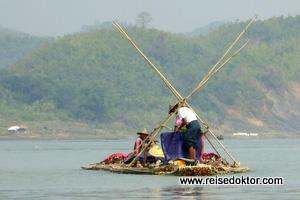 Fluss Myanmar