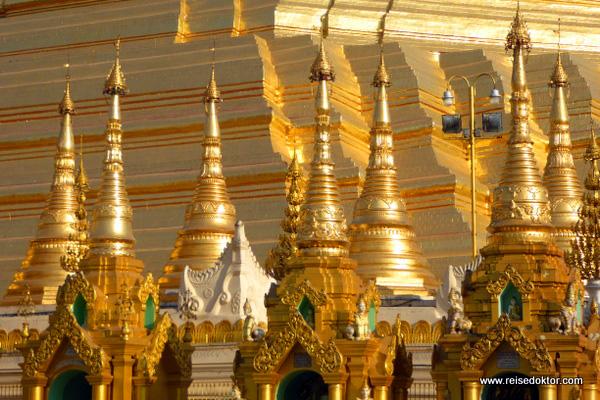 Gold Shwedagon Pagode