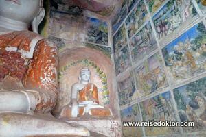 Höhlenmalerei Myanmar